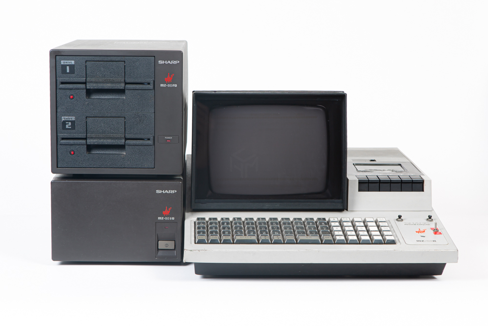 Sharp MZ-80K Computer club Limburg